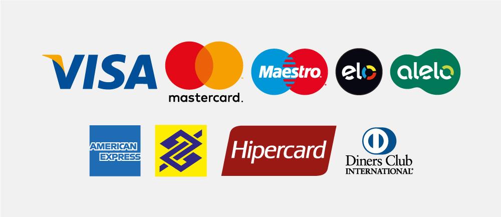 400 ícones de cartões de crédito - Daniel Farias Agência Digital