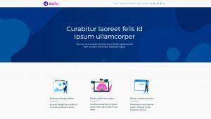 Dafa Tema WordPress Profissional Grátis