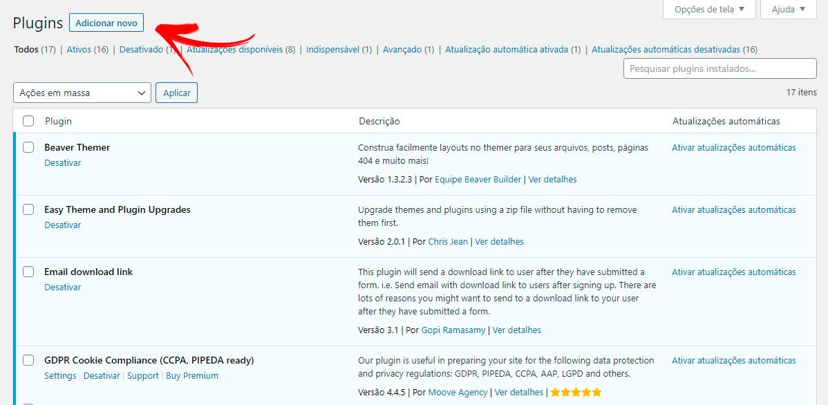 Página de Login do WordPress personalizada sem código